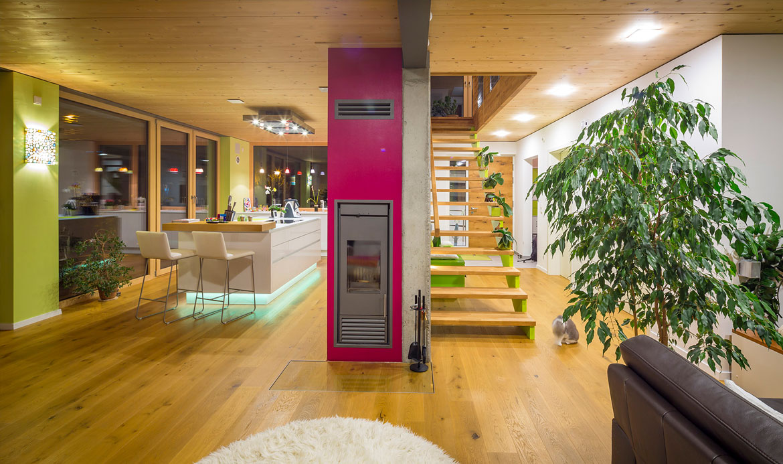 passivhaus mit smart home steuerung augsburger holzhaus gmbh. Black Bedroom Furniture Sets. Home Design Ideas